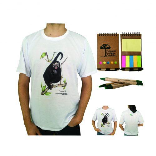 Kit macaco-aranha-de-cara-branca